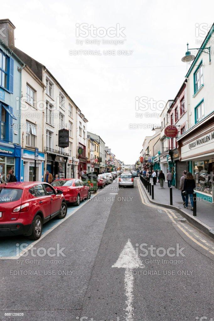 The Streets of Killarney in County Kerry, Ireland stock photo