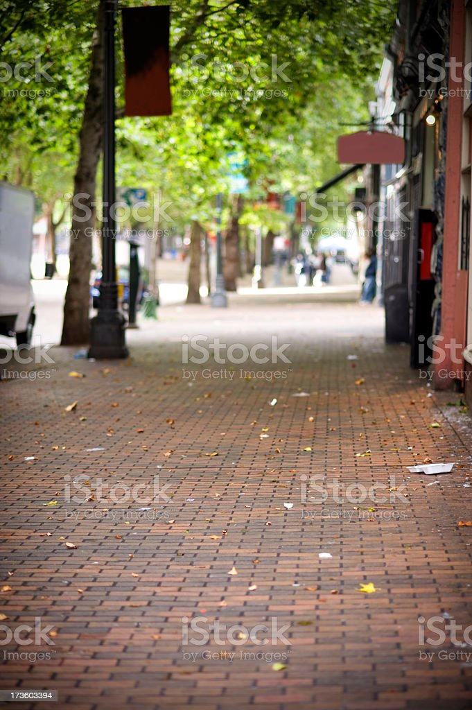 The Streets stock photo