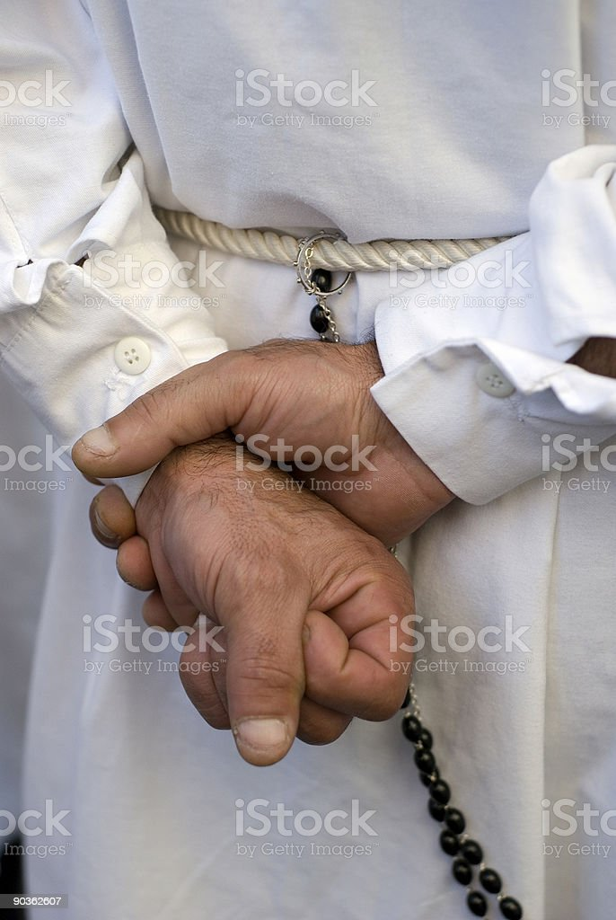 The strenght of Faith royalty-free stock photo