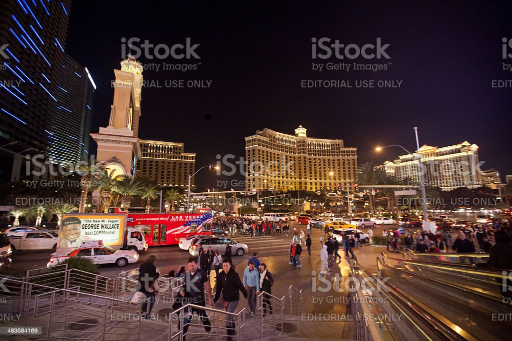 The Strip royalty-free stock photo