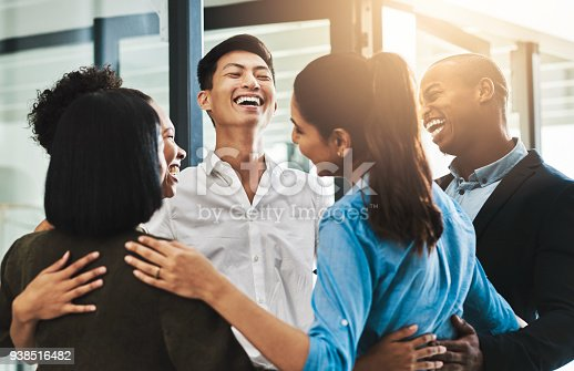 938516440 istock photo The strongest teams stand together 938516482