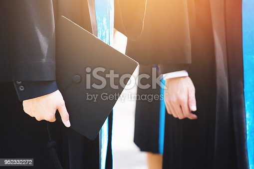 1127798356 istock photo The student graduation during commencement success graduates of the university 952332272
