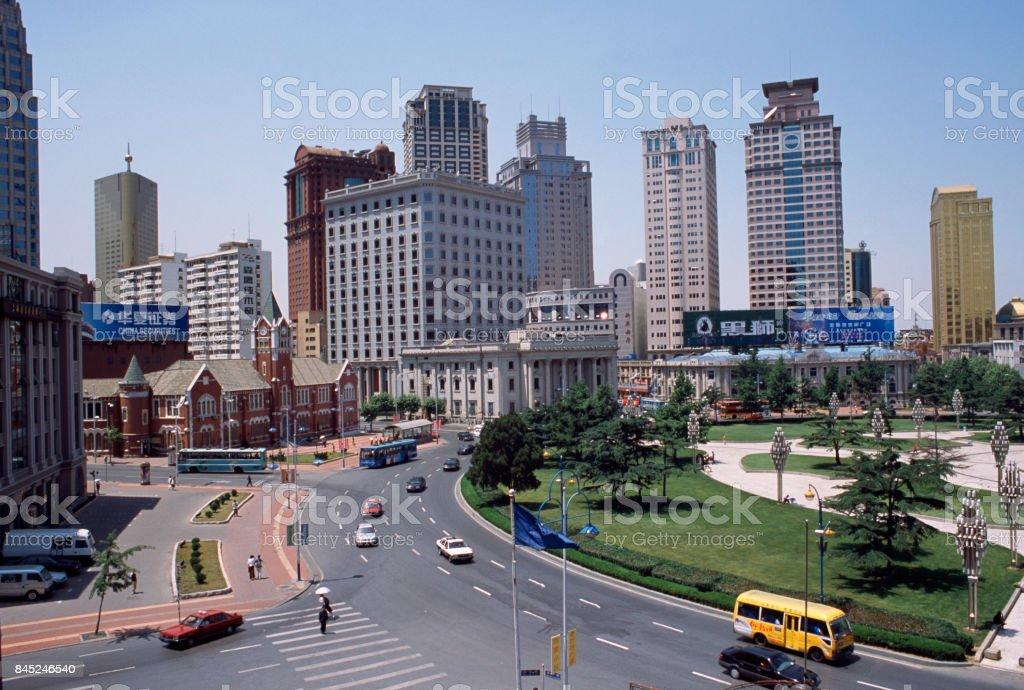 The study of Dalian stock photo
