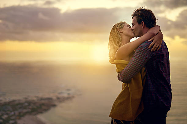 the stuff romance novels are made of - boyfriend stock photos and pictures