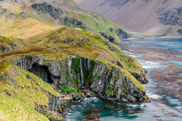 The Stunning Beauty of the Godthul landscapes stock photo