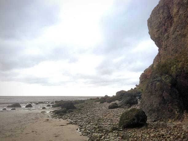 The stunning English coast. stock photo