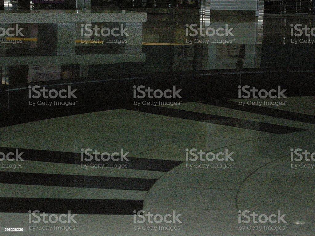 The subway station waiting room foto royalty-free