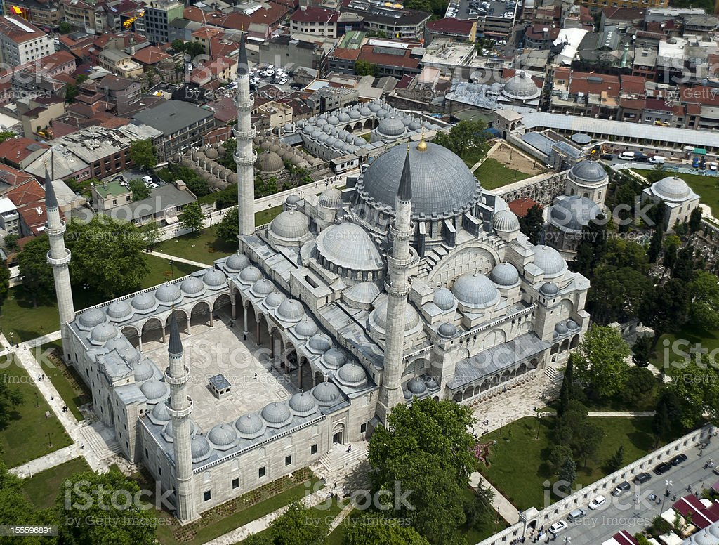 The Suleymaniye Mosque (Fatih District). Istanbul. stock photo