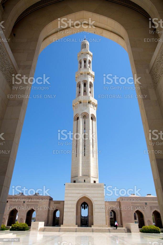 De Sultan Qaboos Grand Mosque royalty free stockfoto