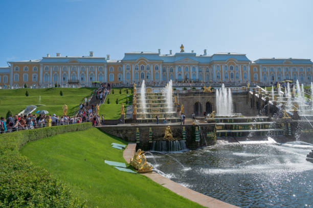 Die Sommerpalastbrunnen – Foto