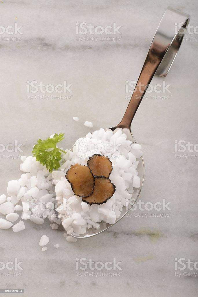 The summer truffle royalty-free stock photo