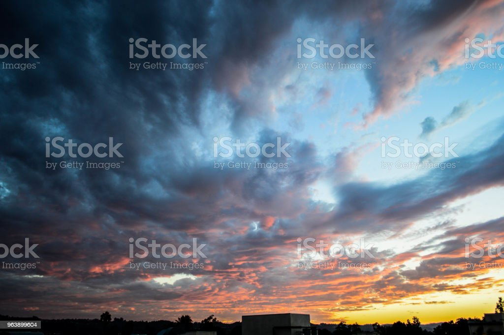 The Sun Always Sets Over Los Angeles - Royalty-free Above Stock Photo