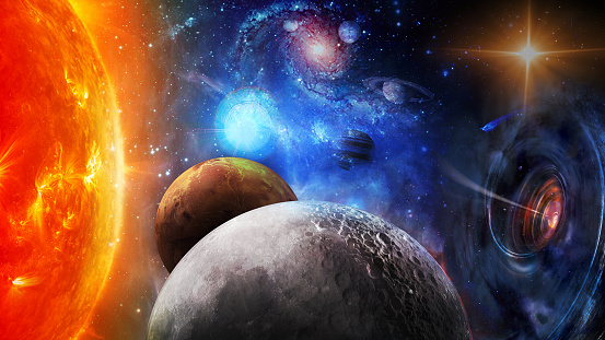The sun, black hole and planets in space. Elements of this image furnished by NASA.\n\n/urls:\nhttps://www.nasa.gov/feature/new-nasa-position-to-focus-on-exploration-of-moon-mars-and-worlds-beyond\n(https://www.nasa.gov/sites/default/files/thumbnails/image/lunar_feature_header_pic.jpg)\nhttps://www.nasa.gov/feature/nasa-science-keeps-the-lights-on\n(https://www.nasa.gov/sites/default/files/thumbnails/image/keep-the-lights-on_0.jpg)\nhttps://images.nasa.gov/details-PIA17213.html\nhttps://www.nasa.gov/feature/goddard/2016/x-ray-echoes-of-a-shredded-star-provide-close-up-of-killer-black-hole\n(https://www.nasa.gov/sites/default/files/thumbnails/image/tidal_disruption_art_as.jpg)