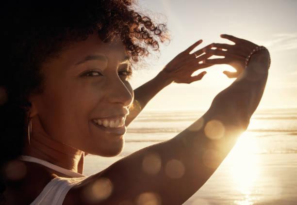 Die Sonne erhellt ihre Schönheit noch mehr – Foto