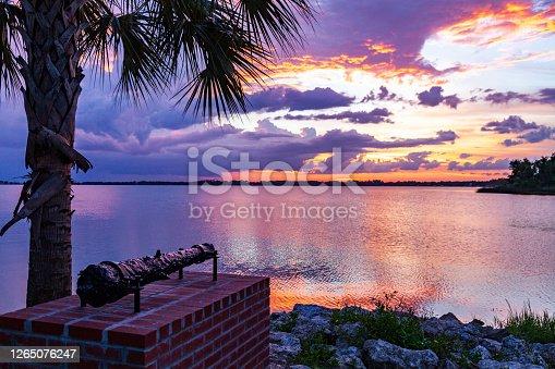 istock The sun sets over Lake Dora in historic Mount Dora Florida 1265076247