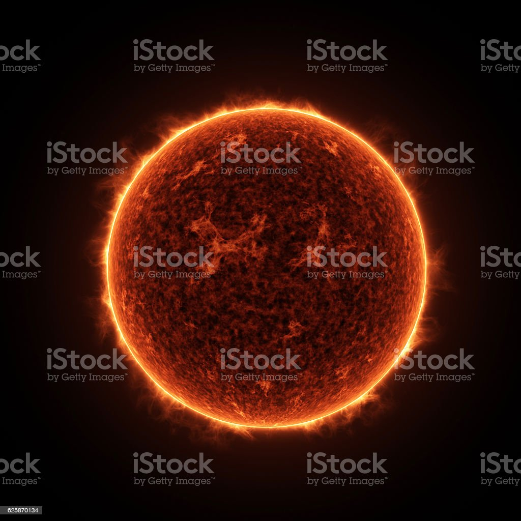 The Sun Star stock photo