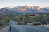 Sedona is an Arizona desert town near Flagstaff that's surrounded by red-rock buttes, steep canyon walls and pine forests.