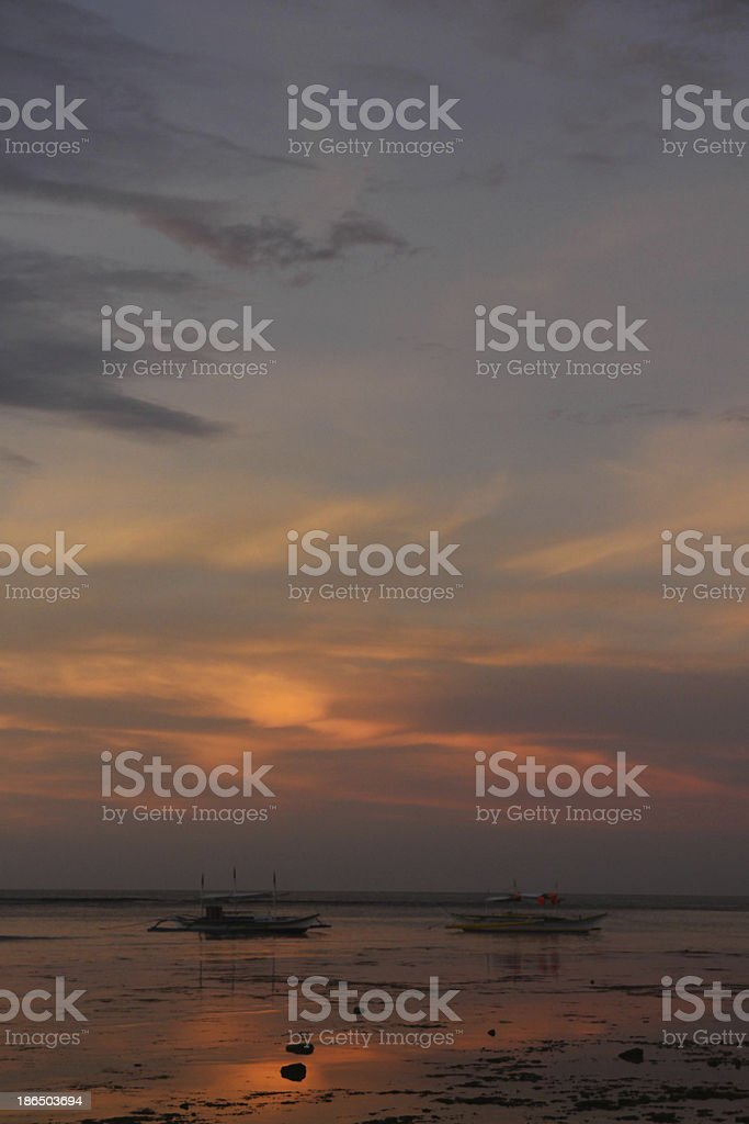 El Nido Sunrise royalty-free stock photo