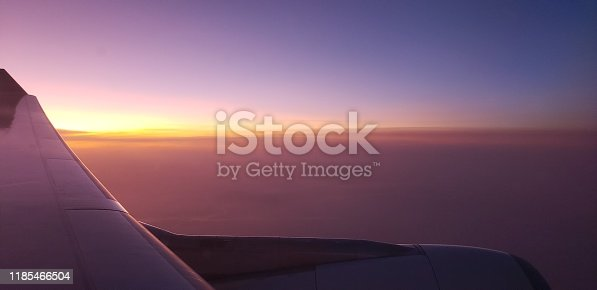 1045890176 istock photo The sunset in the sky 1185466504