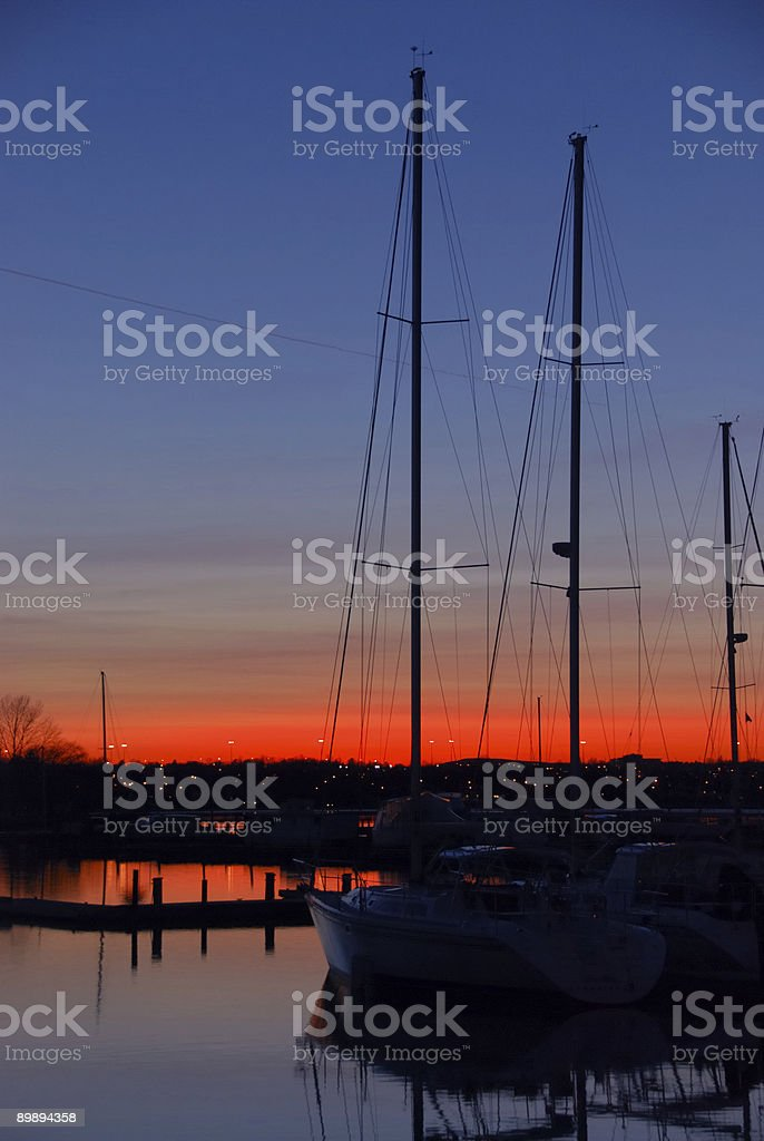 The Sunset royalty-free stock photo