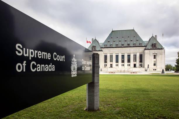 Der oberste Gerichtshof von Kanada, Ottawa, Ontario – Foto