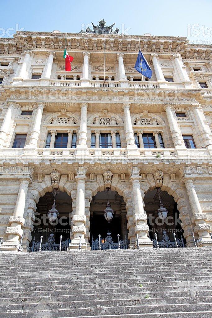 The Supreme Court of Cassation, Rome stock photo