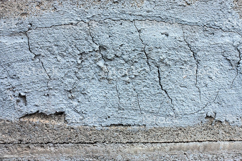 The surface of the concrete blocks. stock photo
