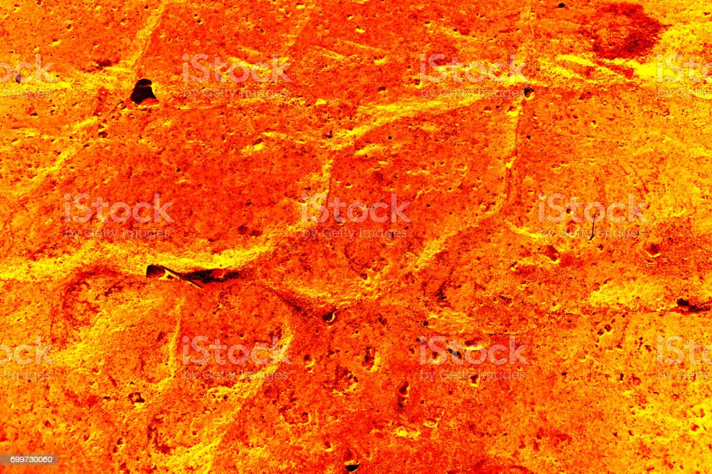 The surface of the lava. background stock photo