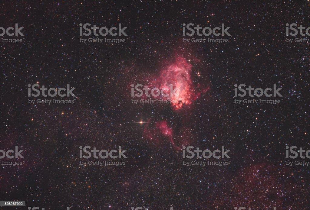 Der Schwan-Nebel (Messier 17) – Foto