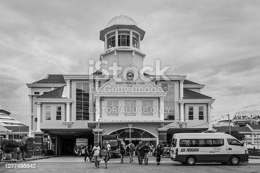 istock The Swettenham Cruise Ship Terminal in George Town, Penang, Malaysia 1277495942