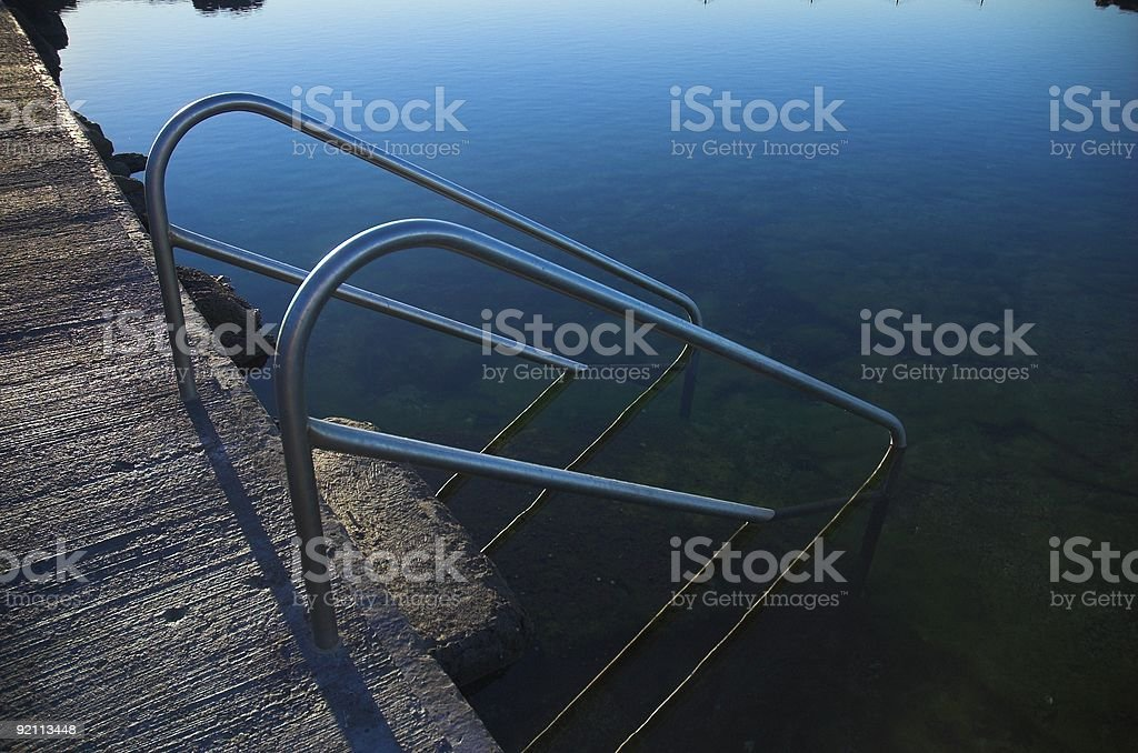 The Swimming Pool 10 royalty-free stock photo
