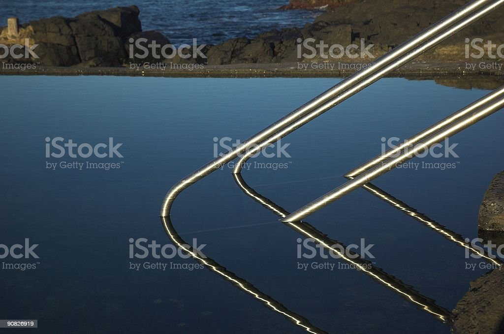 The Swimming Pool royalty-free stock photo