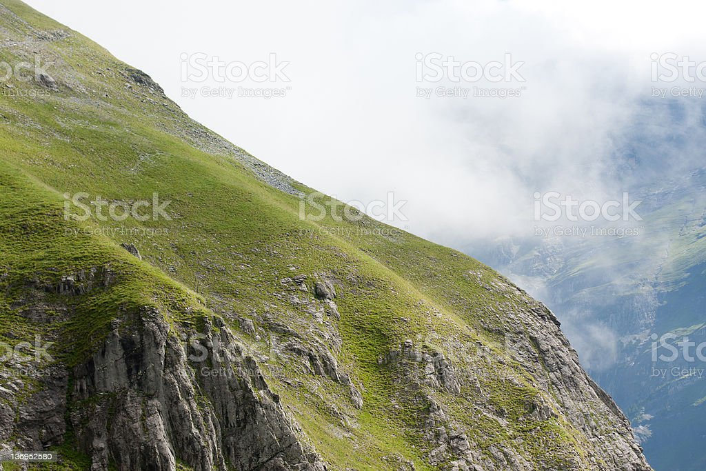 The Swiss Alps royalty-free stock photo