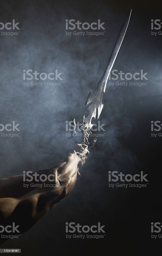 The Sword royalty-free stock photo