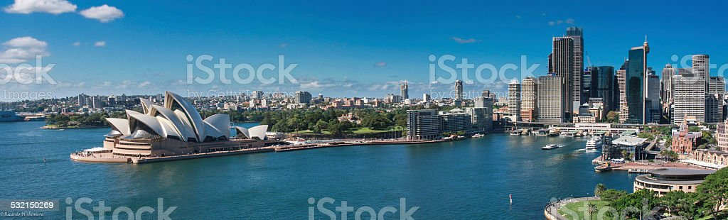 The Sydney Opera House stock photo