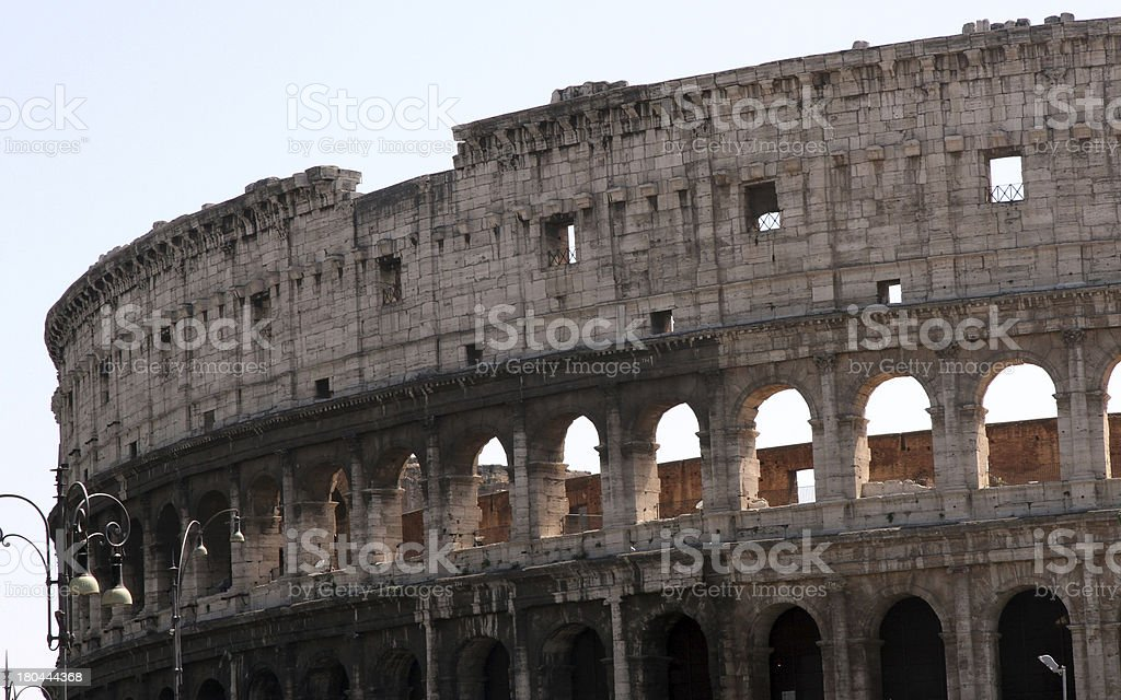 COLOSSEUM the symbol of Italy in Rome 1 royalty-free stock photo