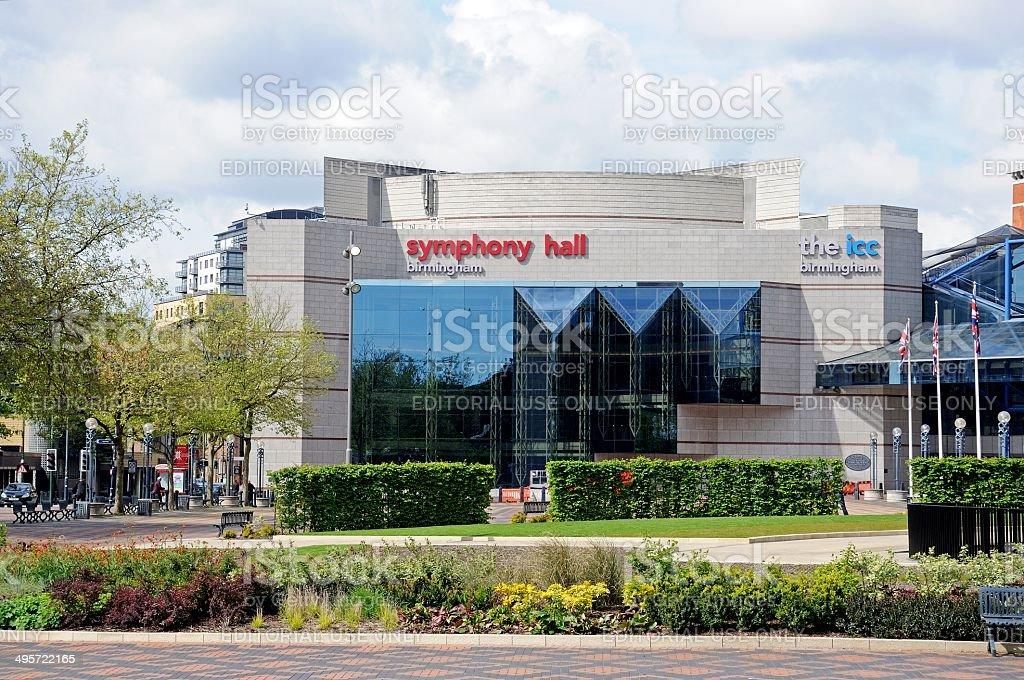 The Symphony Hall & ICC, Birmingham. stock photo