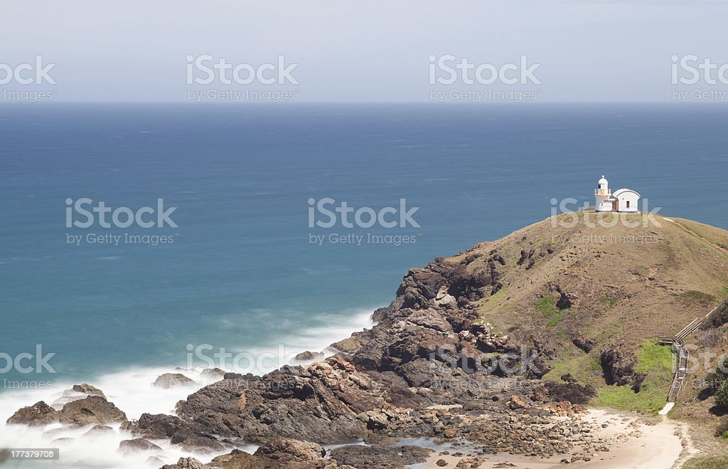 The Tacking Point Lighthouse stock photo