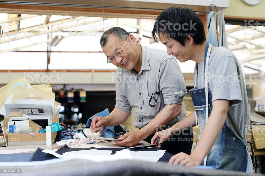 The tailor who talks about denim圖像檔