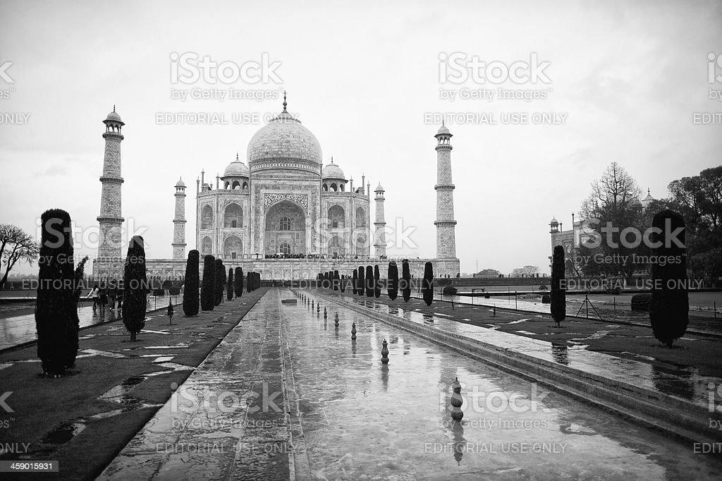 The Taj Mahal, Agra, India royalty-free stock photo