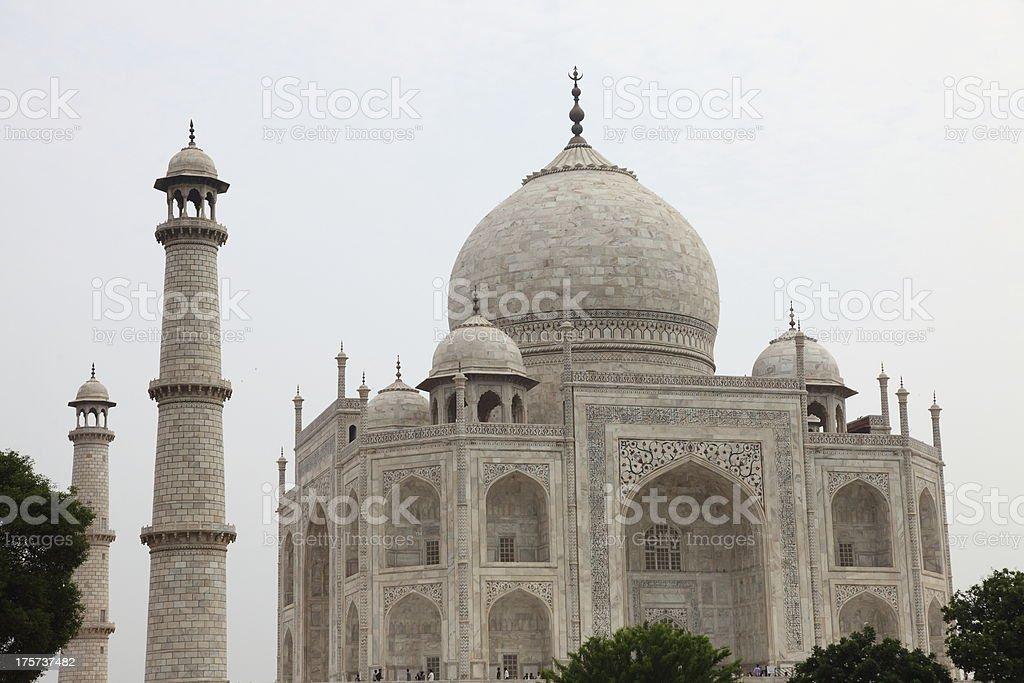 The Taj Mahal, India royalty-free stock photo