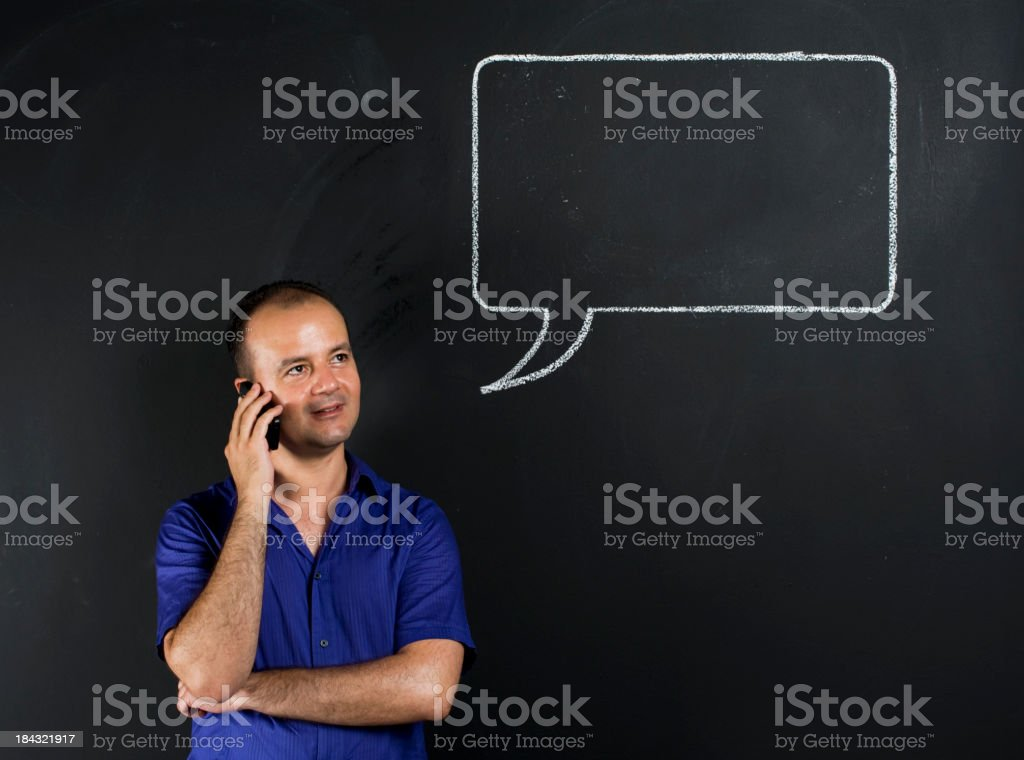 The Talker royalty-free stock photo