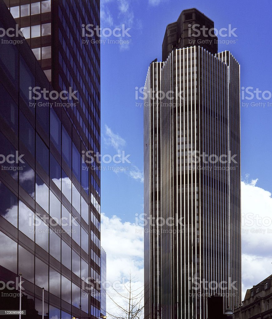 The tallest skyscraper in London royalty-free stock photo