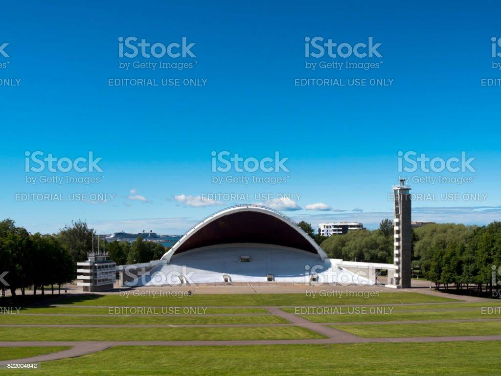 The Tallinn Song Festival Grounds, Estonia stock photo