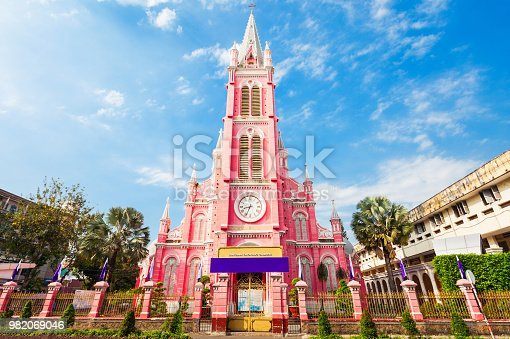 Tan Dinh parish church or Church of the Sacred Heart of Jesus is a church located in Ho Chi Minh City in Vietnam