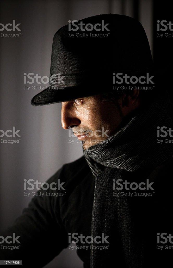 the tango singer royalty-free stock photo