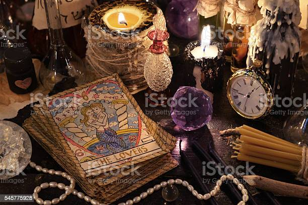 The tarot cards with crystal candles and magic objects picture id545775928?b=1&k=6&m=545775928&s=612x612&h=o5btcljvrlf75rwhsjra8mbtvgfh 4pamcdx15gc8qi=