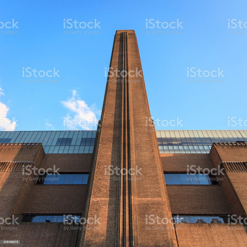The Tate Modern gallery on the South Bank in London stock photo