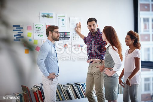 istock The team that works together wins together 604795800
