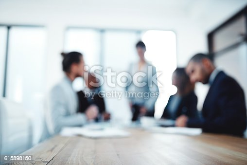 Shot of a group of businesspeople working in an office
